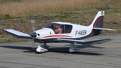 F-HASH - Robin DR400/120 - Aero Club - Rennes Ille & Vilaine