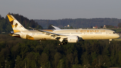 A6-BLB - Boeing 787-9 Dreamliner - Etihad Airways