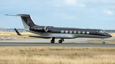 4K-MEK8 - Gulfstream G550 - Private