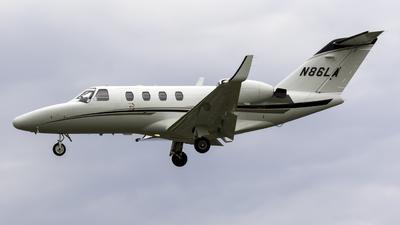 N86LA - Cessna 525 Citationjet CJ1 - Private