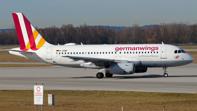 D-AGWF - Airbus A319-132 - Germanwings