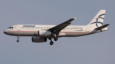 SX-DGR - Airbus A320-232 - Aegean Airlines