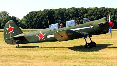 OO-IAK - Yakovlev Yak-18 - Private