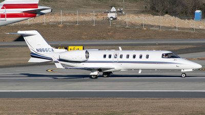 N866CA - Bombardier Learjet 45 - Private