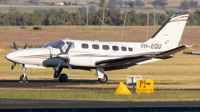 A picture of VHEQU - Cessna 441 Conquest - [4410035] - © Mark B Imagery