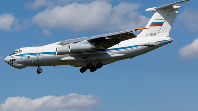 RA-78814 - Ilyushin IL-78M Midas - Russia - Air Force