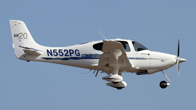 N552PG - Cirrus SR20-G3 - Private