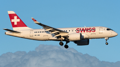 A picture of HBJBD - Airbus A220100 - Swiss - © Gianluca Mantellini