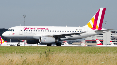 D-AGWZ - Airbus A319-132 - Germanwings