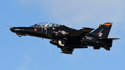 ZK034 - British Aerospace Hawk T.2 - United Kingdom - Royal Air Force (RAF)