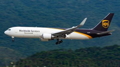 N341UP - Boeing 767-34AF(ER) - United Parcel Service (UPS)