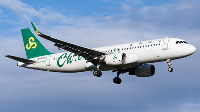 B-8700 - Airbus A320-214 - Spring Airlines