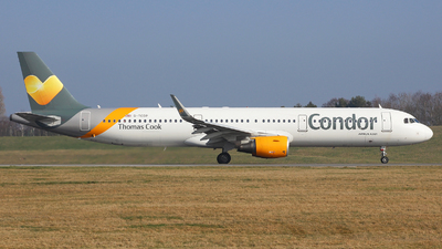 G-TCDP - Airbus A321-211 - Thomas Cook Airlines