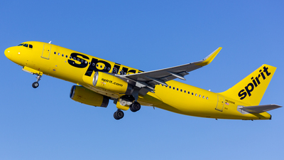 A picture of N626NK - Airbus A320232 - Spirit Airlines - © Jay Cassady