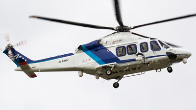 JA93NH - Agusta-Westland AW-139 - All Nippon Helicopter