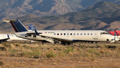 N716CA - Bombardier CRJ-100ER - Untitled