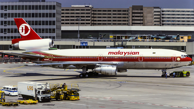 N109WA - McDonnell Douglas DC-10-30(CF) - Malaysian Airline System (MAS) (World Airways)