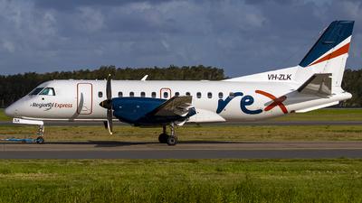 A picture of VHZLK - Saab 340B - Regional Express - © Jon Logan