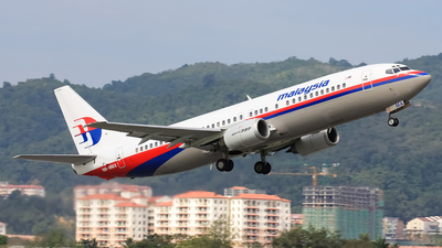 9M-MMX - Boeing 737-4H6 - Malaysia Airlines