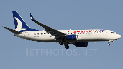 A picture of TCSCE - Boeing 7378Q8 - Turkish Airlines - © Ali Mithat Ozdogan