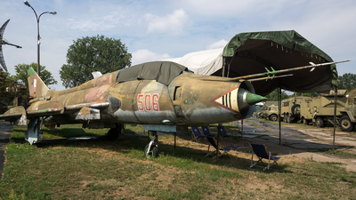 506 - Sukhoi Su-22M4 Fitter K - Poland - Air Force