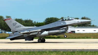 96-0083 - Lockheed Martin F-16CJ Fighting Falcon - United States - US Air Force (USAF)
