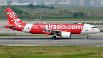 A picture of HSBBF - Airbus A320216 - AirAsia - © BCG554
