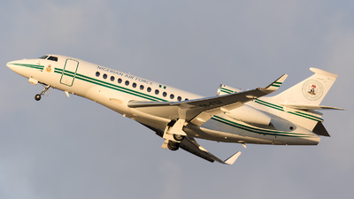 5N-FGV - Dassault Falcon 7X - Nigeria - Air Force