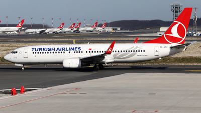 A picture of TCJFU - Boeing 7378F2 - Turkish Airlines - © Firat Cimenli
