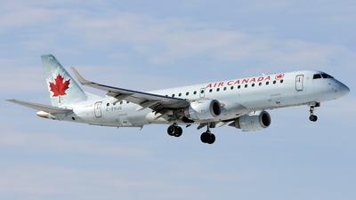 A picture of CFHJU - Embraer E190AR - [19000044] - © Maxime Branchaud