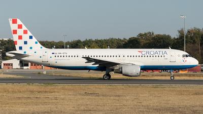 9A-CTJ - Airbus A320-214 - Croatia Airlines