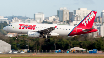 PR-MBN - Airbus A319-132 - TAM Linhas Aéreas