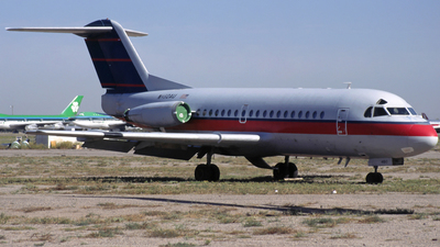 N460AU - Fokker F28-1000 Fellowship - USAir