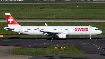 A picture of HBION - Airbus A321212 - Swiss - © Christoph Flink