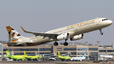A6-AEF - Airbus A321-231 - Etihad Airways