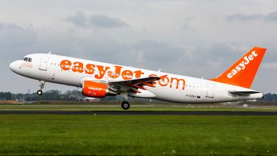 G-EZUY - Airbus A320-214 - easyJet