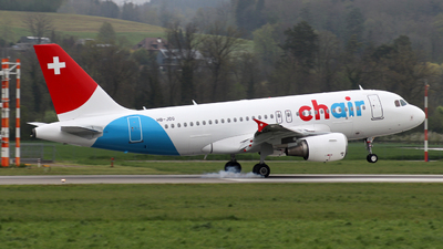 A picture of HBJOG - Airbus A319112 - Chair Airlines - © Mischa Kafader