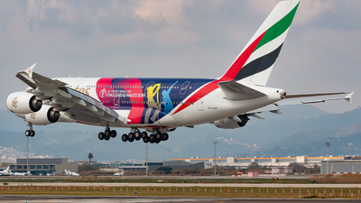 A6-EOH - Airbus A380-861 - Emirates