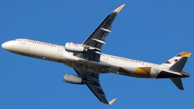 A picture of A6AEG - Airbus A321231 - Etihad Airways - © Aneesh Bapaye