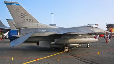 91-0361 - General Dynamics F-16C Fighting Falcon - United States - US Air Force (USAF)