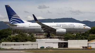 HP-1376CMP - Boeing 737-7V3 - Copa Airlines