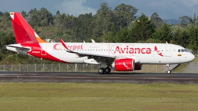 A picture of N766AV - Airbus A320251N - Avianca - © Alex Rivera