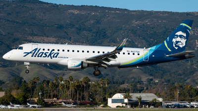 A picture of N627QX - Embraer E175LR - Alaska Airlines - © Beck Ramsey