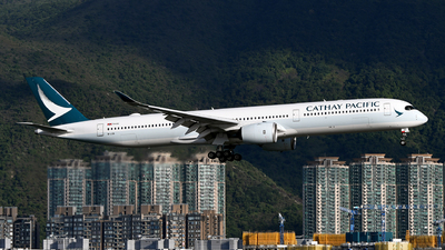 B-LXD - Airbus A350-1041 - Cathay Pacific Airways