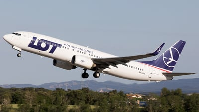 SP-LWA - Boeing 737-89P - LOT Polish Airlines
