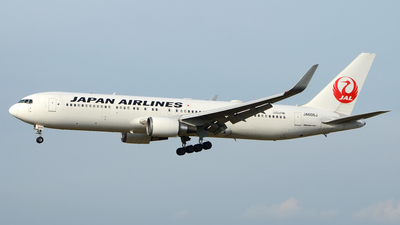 JA606J - Boeing 767-346(ER) - Japan Airlines (JAL)