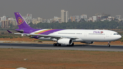 HS-TBF - Airbus A330-343 - Thai Airways International