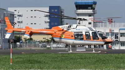 JA6407 - Bell 407 - Shin Nihon Helicopter
