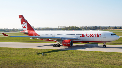 D-ALPE - Airbus A330-223 - Air Berlin