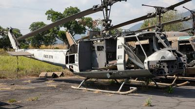 278 - Bell UH-1H Iroquois - El Salvador - Air Force